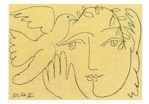 Picasso rostro de la paz